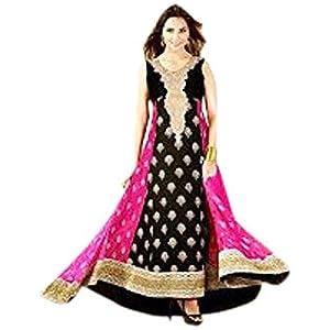 A.A Boutique Designer Ethinic Wear Saree - Black