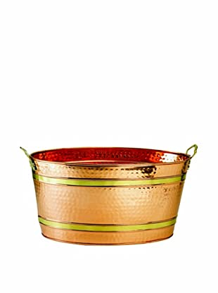 Old Dutch International 11-Gal. Copper Party Tub