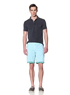 Tailor Vintage Men's Reversible Short (Aqua)