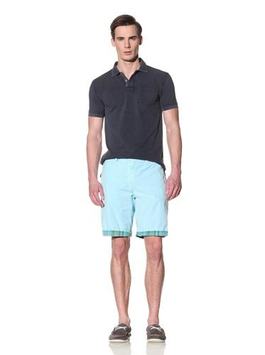 Tailor Vintage Men's Reversible Short (Aqua)