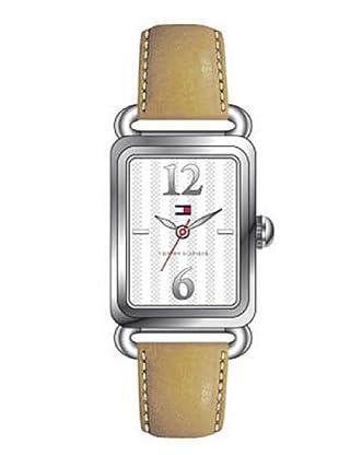Tommy Hilfiger 1780938 - Reloj de Señora movimiento de quarzo, correa de piel color beis