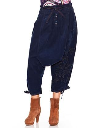 Desigual Pantalón Avemus (azul ártico)