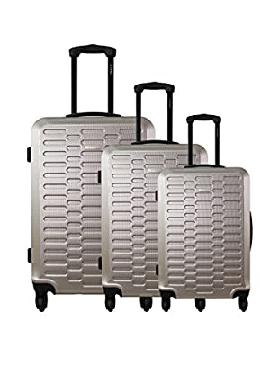zifel Set de 3 trolleys rígidos TD402 0.0 cm