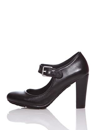 Rockport Zapatos Tacón Jalicia Mary Jane (Negro)