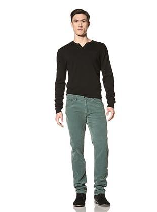 Just a Cheap Shirt Men's Slim Fit Corduroy Pants (Hunter)