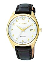 Citizen Analog White Dial Unisex Watch - EO1172-05A