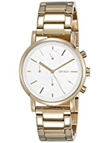DKNY Soho Chronograph Silver Dial Women's Watch - NY2274I