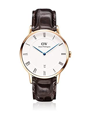 Daniel Wellington Reloj con movimiento cuarzo japonés Unisex Dapper York 38 mm