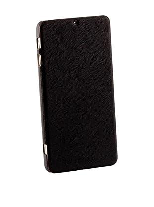 Beja Carcasa Flip Cover Negra para Samsung Galaxy Note 3