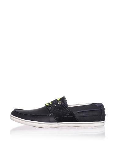 Tretorn Men's Smogensson Leather Slip-On (Dark Navy)