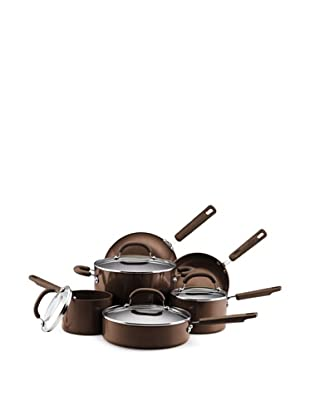 Earth Pan II by Farberware 10-Piece Nonstick Cookware Set (Espresso)