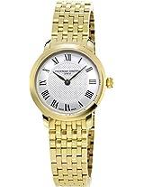Frederique Constant Analogue White Dial Women's Watch - FC-200MCS5B