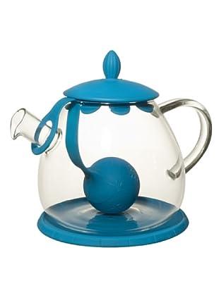 Cayos Company Teiera con Tea Ball Turchese 12 cm