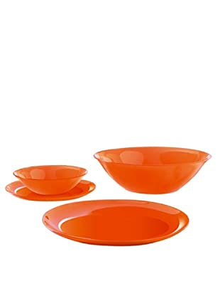 Luminarc Vajilla Redonda 19 Piezas Modelo Orange Arty