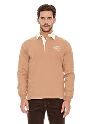 Spagnolo Polo Terry Rugby (Beige)