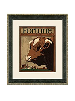 Vintage June 1931 Fortune Magazine Cover, Brown, 21