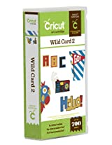 Cricut Wild Card 2 Cartridge