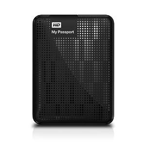 WD My Passport 2TB Portable External USB 3.0 Hard Drive Storage Black (WDBY8L0020BBK-NESN)