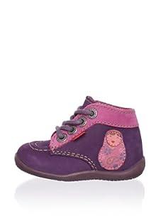 Kickers Kid's Bibouchka Shoe (Violet)