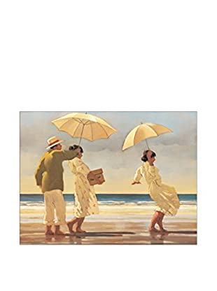 Artopweb Panel Decorativo Vettriano The Picnic Party 60x80 cm Multicolor