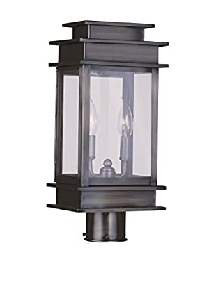 Crestwood Amelia 2-Light Post Head, Vintage Pewter