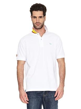 Toro Polo Bandera España (Blanco)