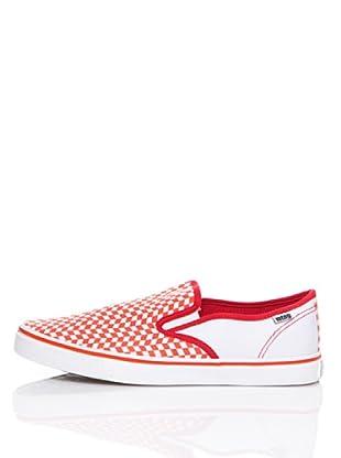 MTNG Zapatillas Elástico (Rojo / Blanco)