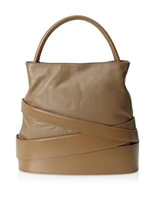 Z Spoke by Zac Posen Women's Veronica Banded Hobo (Khaki)