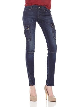 Salsa Pantalón Comfort (Azul)