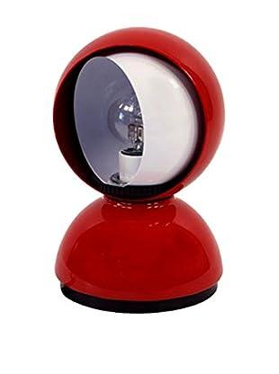 Artemide Lámpara De Mesa Eclisse Rojo Ø 12 H 18 cm