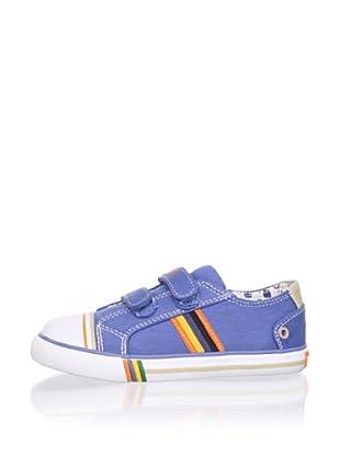 Pablosky Kid's Striped Sneaker (Jeans)