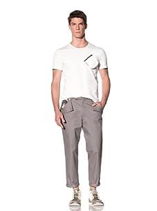 D by D Men's Classic Trouser (Brown)