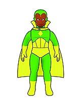 Medicom Marvel Hero Sofubi: Vision Figure