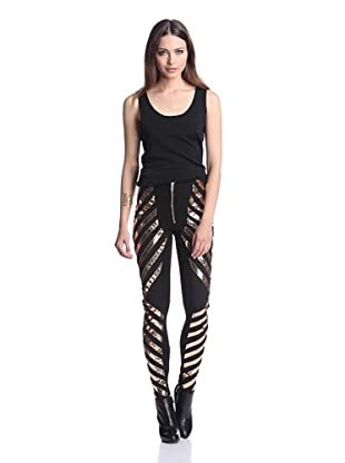 Gareth Pugh Women's Reflective Legging (Gold)