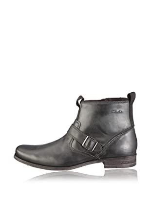 Clarks Stiefel Goto Zip (Schwarz/Black Leather)