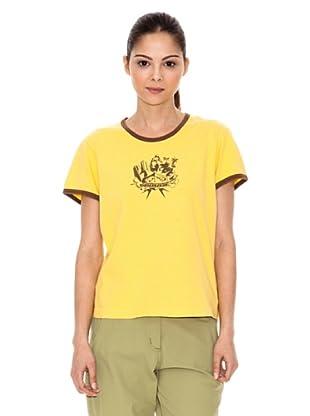 Iguana T-Shirt Axe (Gelb)