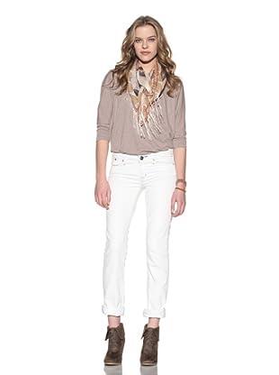 4 Stroke Women's Roxxy Straight Jeans (Whiteroom/White)