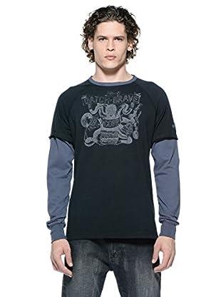 Datch Camiseta Manga Larga (Negro)