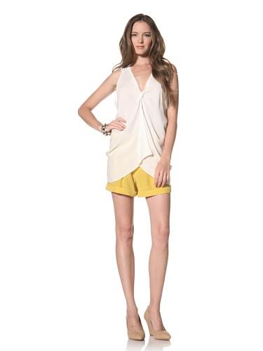 La Fee Verte Women's Sleeveless Top (Ivory)