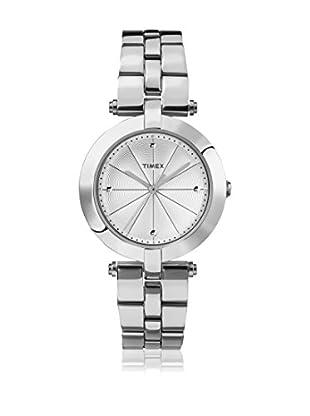 TIMEX Reloj de cuarzo Woman Greenwich Plateado 32 mm