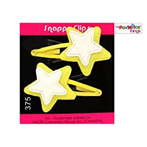 M.F.T. Snappy Clips-Yellow