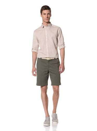 Hyden Yoo Men's Shirt (Beige)