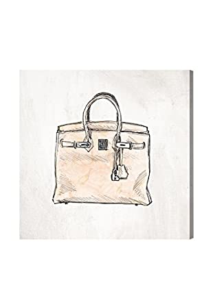 Oliver Gal 'Floral Handbag' Canvas Art