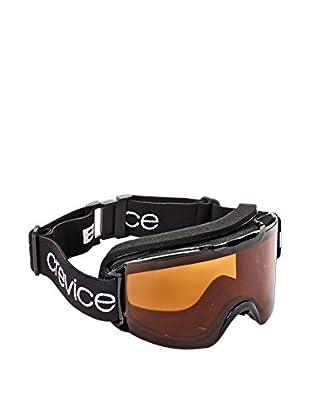 Black Crevice Skibrille schwarz/orange