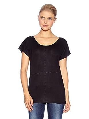Anna Scott Camiseta Kwakoe (Negro)
