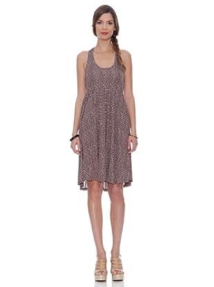Siyu Neckholder Kleid (Braun)