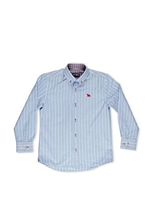 Toro Camisa Junior Oxford Rayas (Azul)
