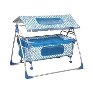 Bajaj Baby Cradle Cum Cot - Blue