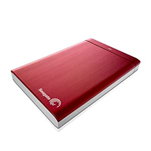 Seagate Backup Plus 1TB Portable External Hard Drive (Red)