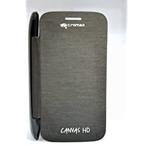 Micromax Superfone iCanvas 3A-116HD Flip Cover(Black)
